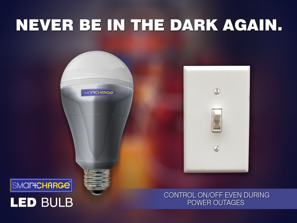 SmartCharge™ - Never be in the dark again!'s video poster