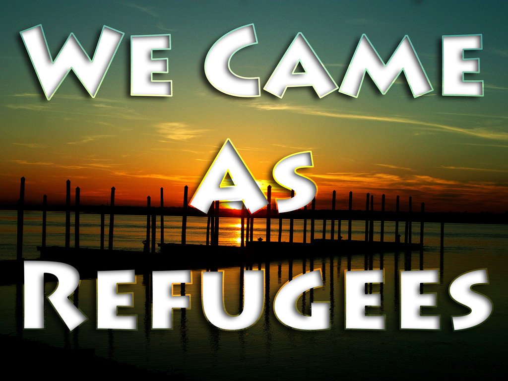 We Came as Refugees's video poster