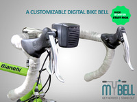 MYBELL: The 1st Customizable Digital Bike Bell and Lights