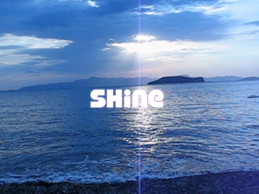 """Shine"": soundtrack to a Turkish film's video poster"