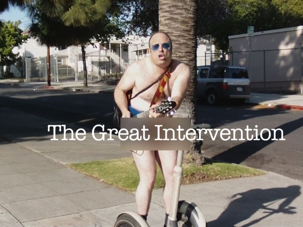 The Great Intervention - An Independent Film's video poster