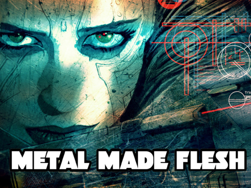 Metal Made Flesh - An Illustrated Cyberpunk Novella's video poster