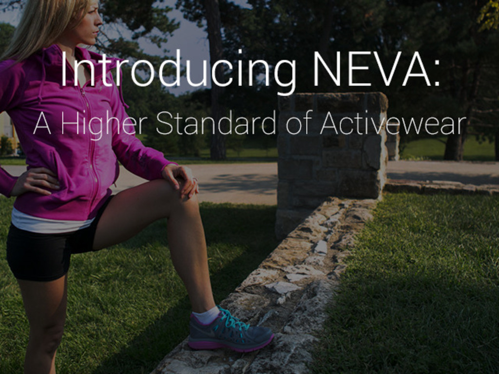 NEVA: ACTIVEWEAR TO EMPOWER WOMEN's video poster