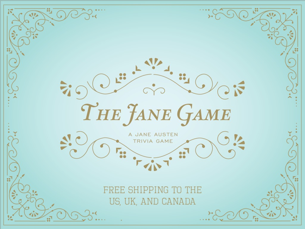 The Jane Game: A Jane Austen Trivia Board Game's video poster