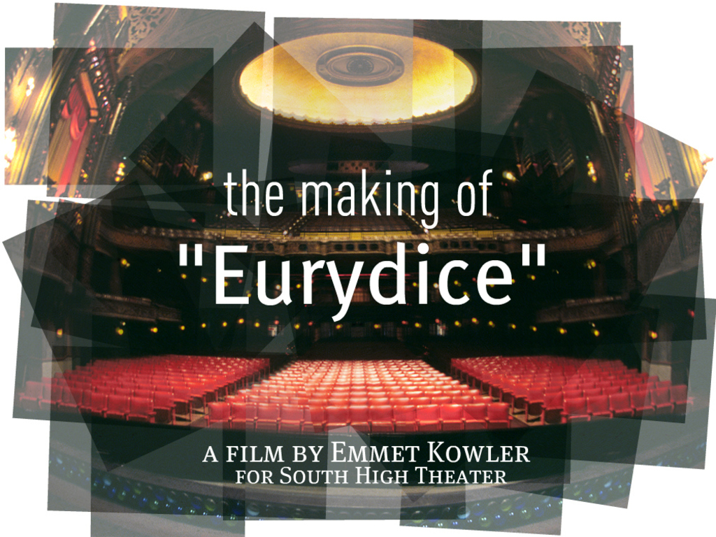 """The Making of """"Eurydice"""" (Canceled)'s video poster"""