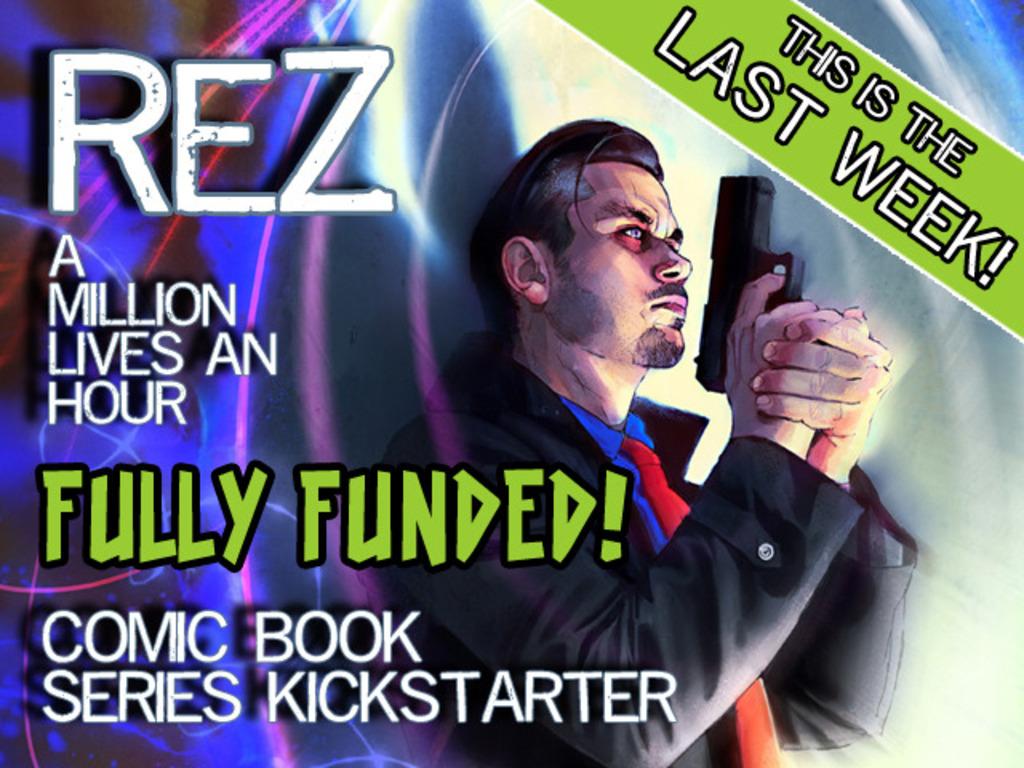 REZ - A Million Lives an Hour - a supernatural crime drama's video poster
