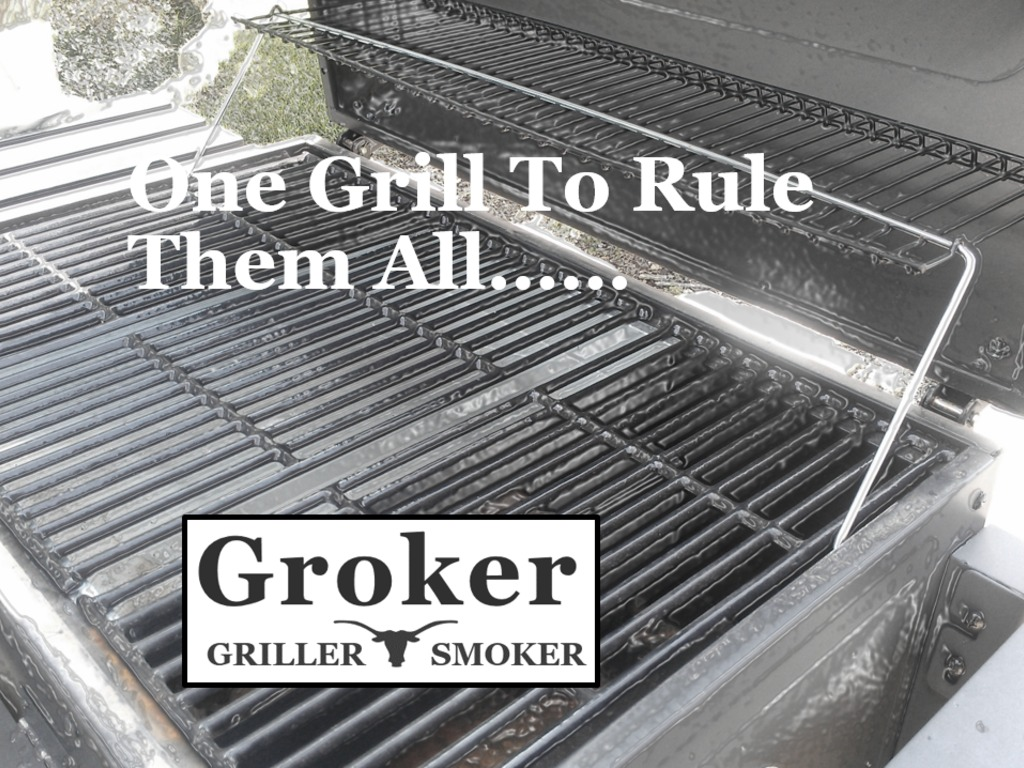 THE GROKER - BBQ on a Gas Grill's video poster