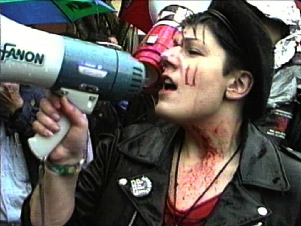 United in Anger: A History of ACT UP's video poster