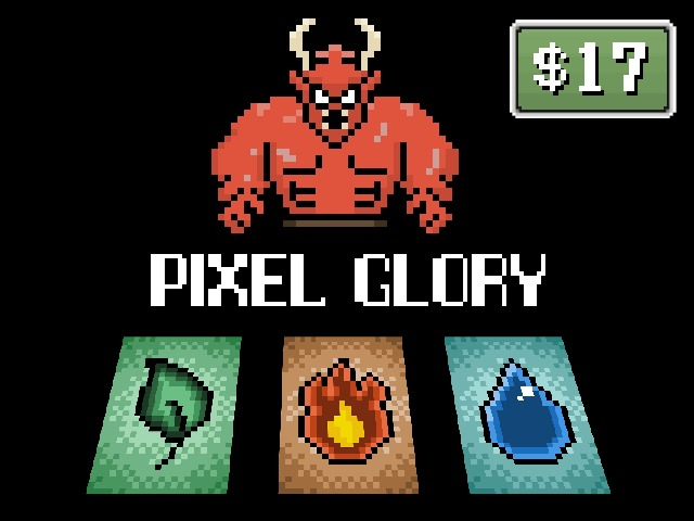 Pixel Glory: A Deck Building Game by Frank Alberts ...