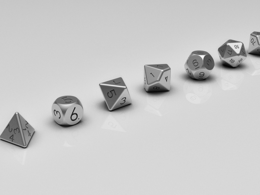 UPCYCLED MACHINED DICE:Polyhedral, D6 PIPS, Fudge & More!'s video poster