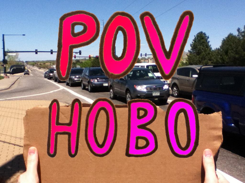 POV HOBO's video poster
