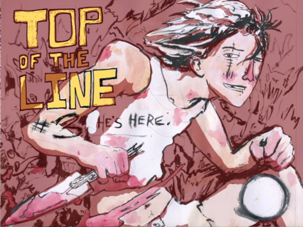 TOP of the LINE: A Monster Fighting Comic!'s video poster