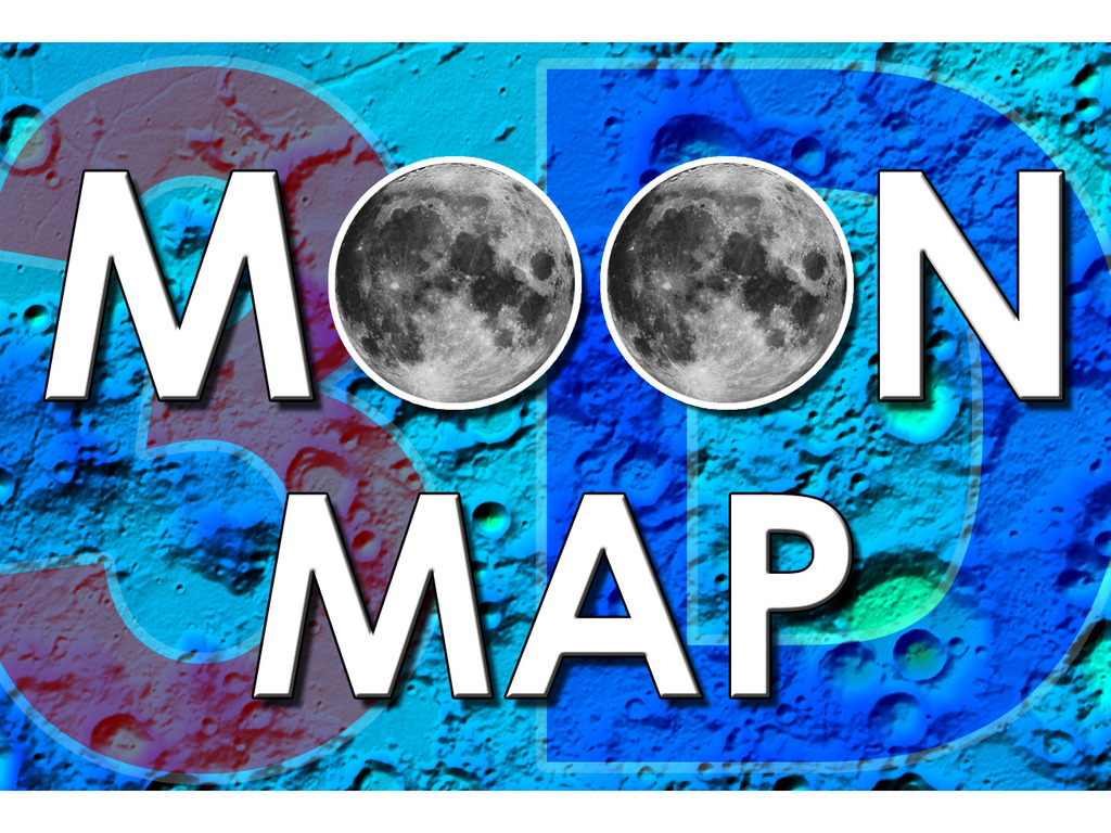 PopView 3D Moon Map's video poster