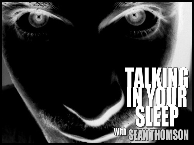 Talking In Your Sleep Show - Magazine cover