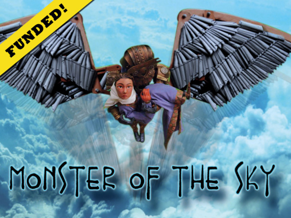 MONSTER OF THE SKY - Mythic Steampunk Film Post-Production's video poster