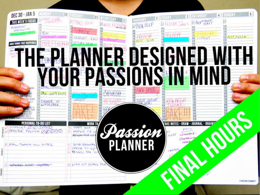 Passion Planner: Start Focusing on What Really Matters's video poster
