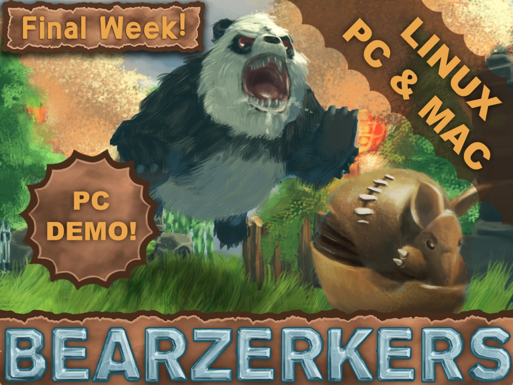 BEARZERKERS - Subversive Indirect Multiplayer- PC DEMO OUT!'s video poster