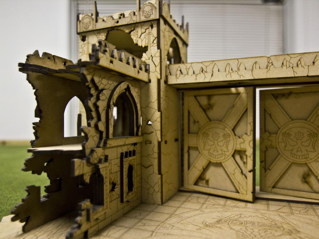 Tectonic Craft Studios New Line of War Games Terrain's video poster