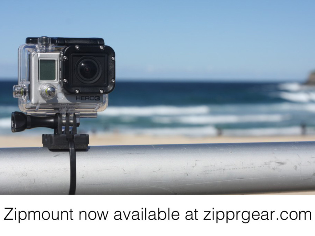 Zipmount. A Simple GoPro Mounting Solution.'s video poster