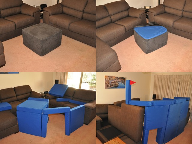 Modern Pillow Fort : Squishy Forts - Pillow Fort Construction Kits by Ross Currie ? Kickstarter