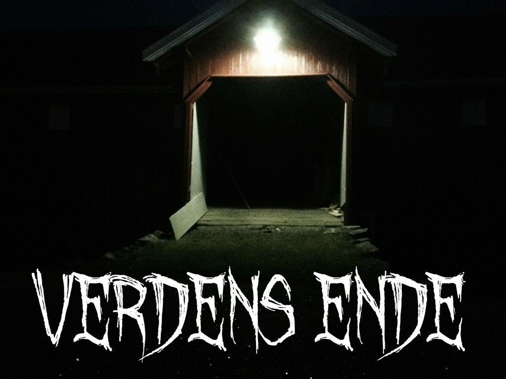 """Verdens Ende""(The World´s End) Student Film's video poster"