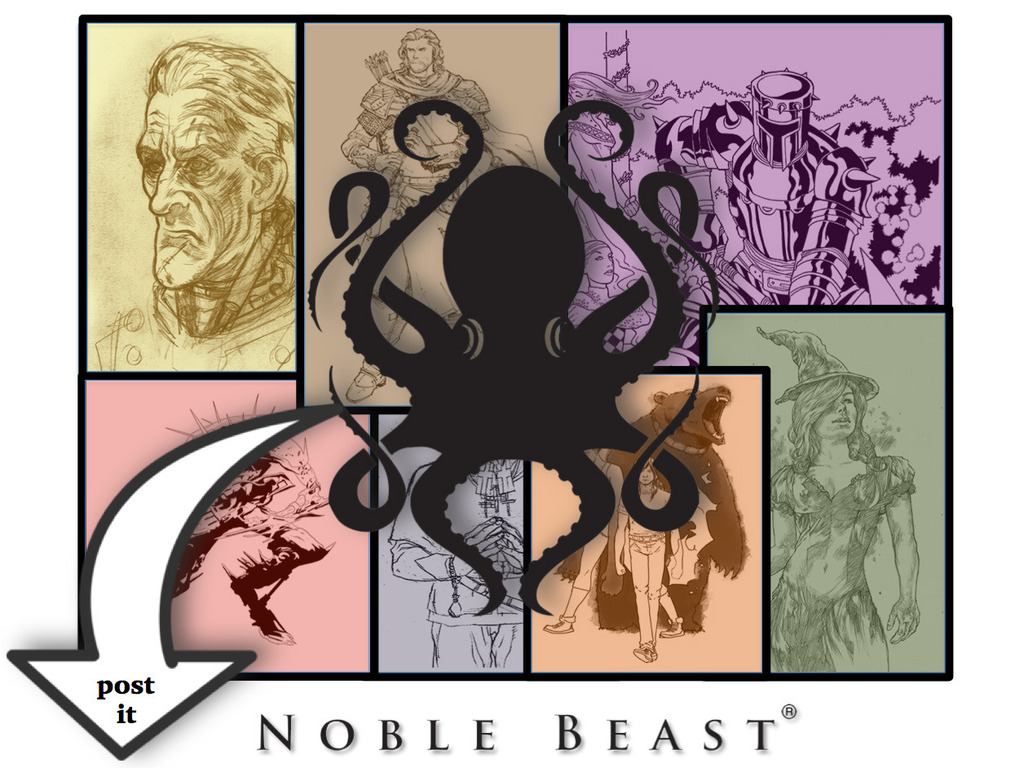 Noble Beast Classics — Creating Interactive Literature's video poster