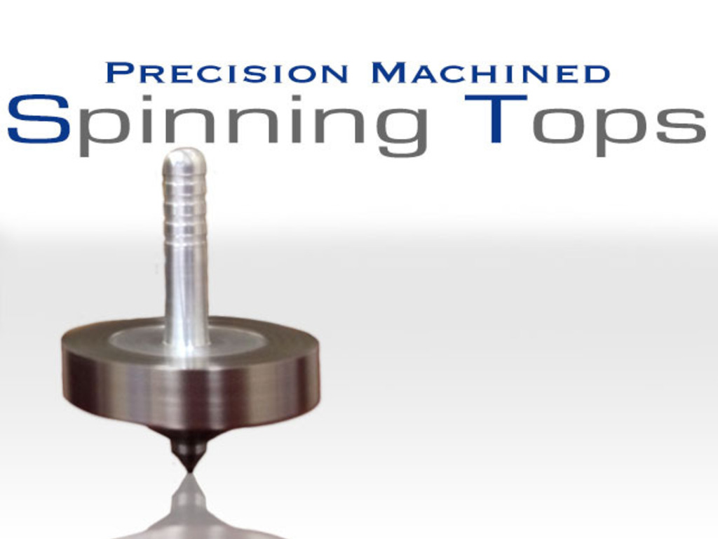 Precision Machined Spinning Tops's video poster