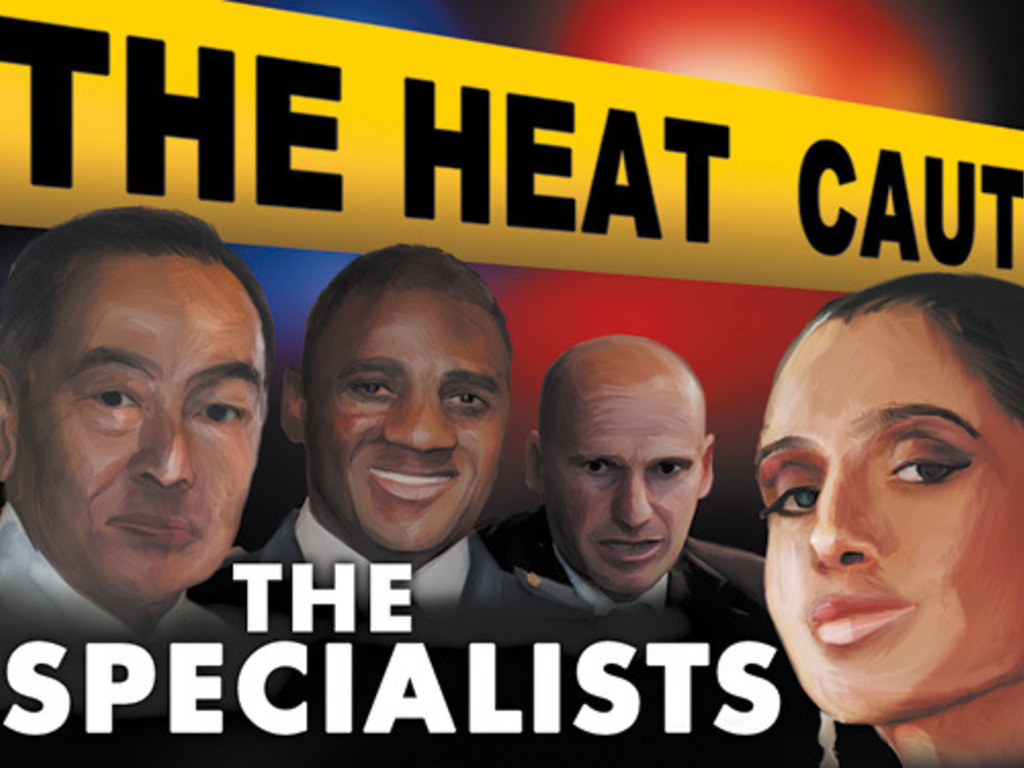 THE HEAT!  an Expansion for Police Precinct's video poster