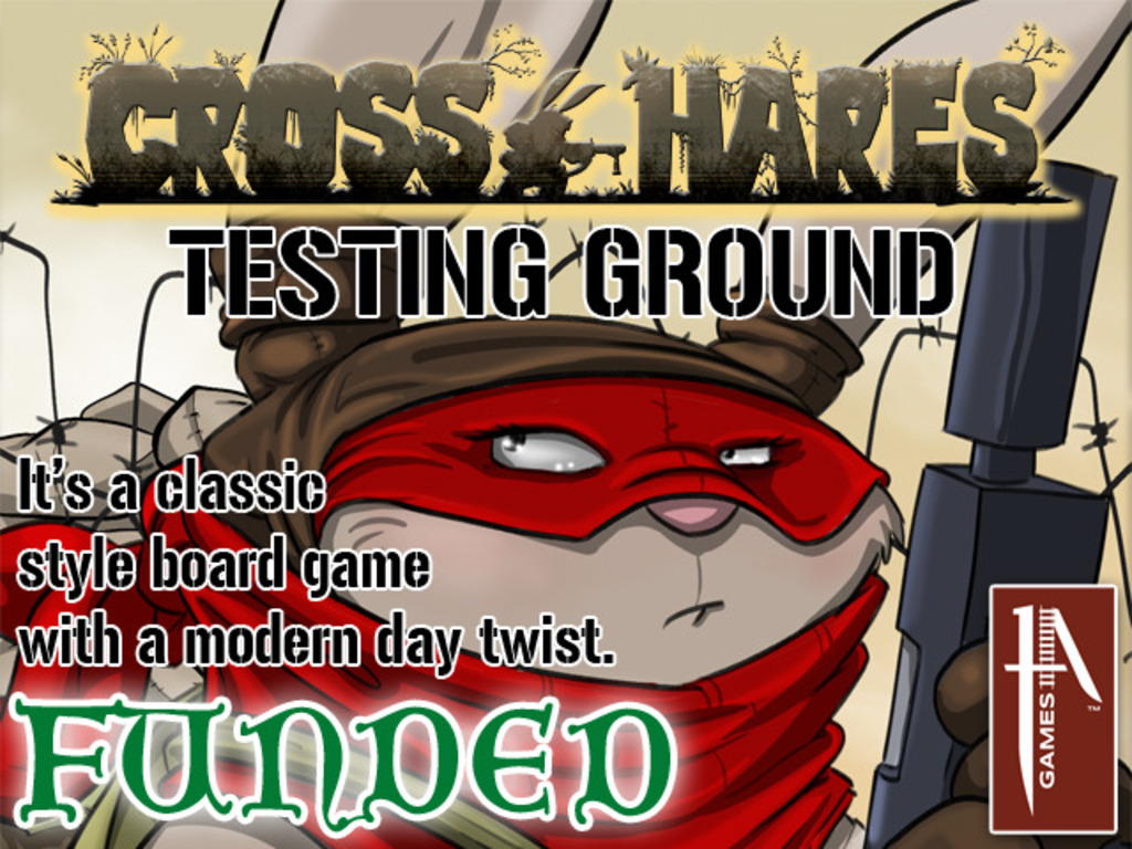 Cross Hares: Testing Ground – New Board Game from 1A Games's video poster