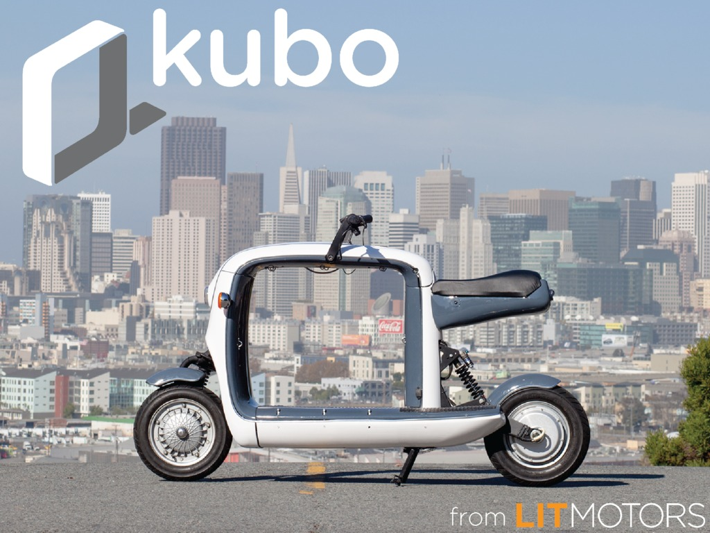 Meet kubo: an electric scooter to carry all your stuff!'s video poster