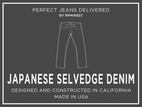 RPMWEST: Specialty Japanese Selvedge Denim Jeans