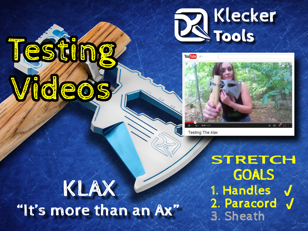 """KLAX - """"It's more than an Ax""""'s video poster"""