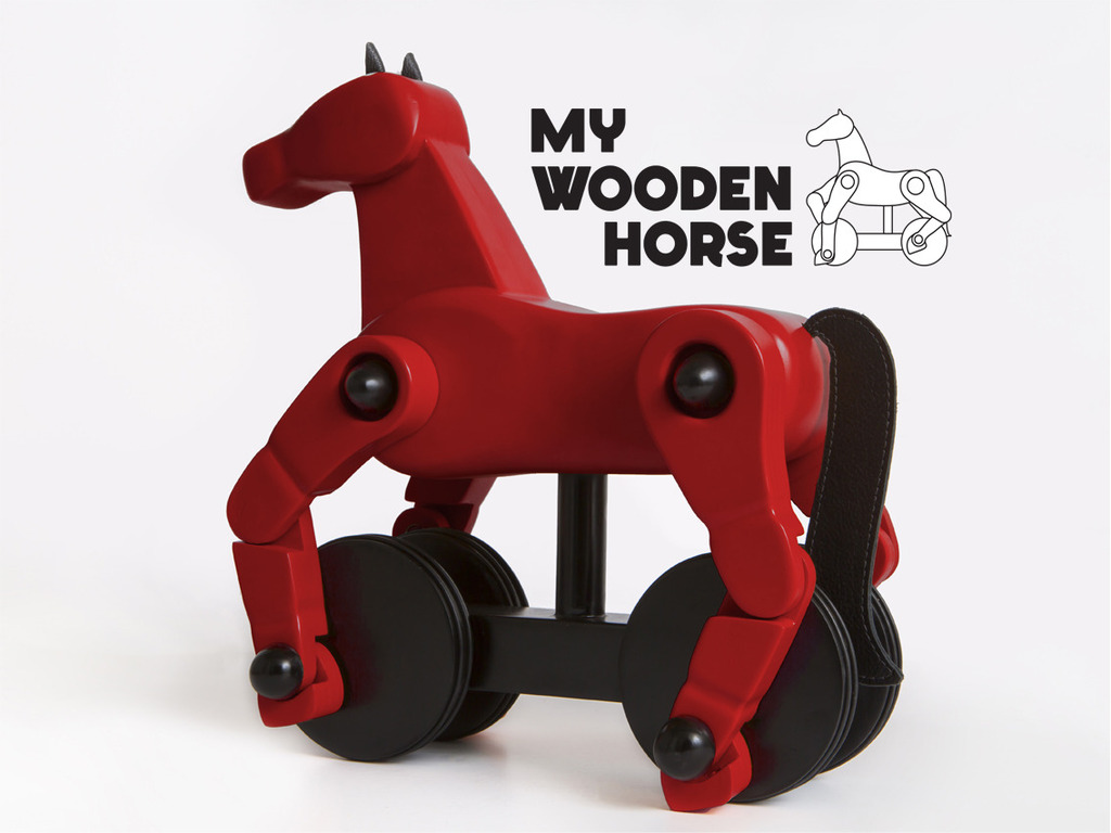 My Wooden Horse's video poster