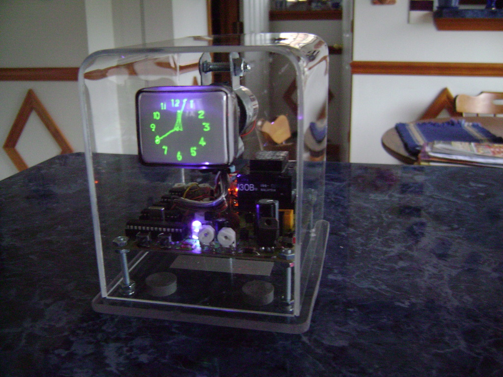 Oscilloscope clock kit's video poster