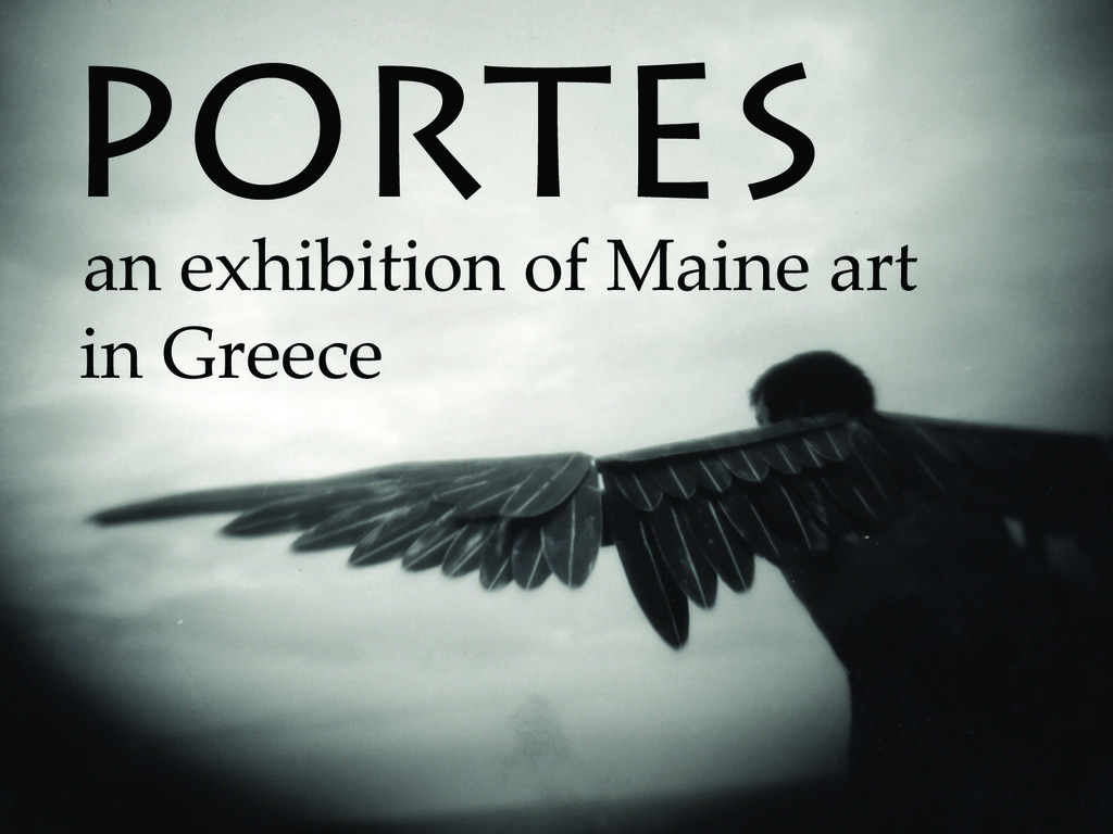 Portes: an exhibition of Maine art in Greece's video poster