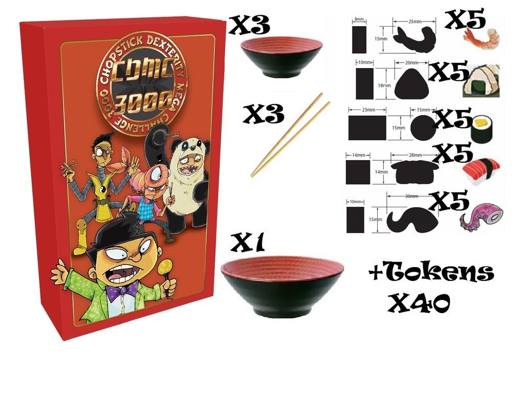 Chopstick Dexterity Mega Challenge 3000 (CDMC 3K) Board Game's video poster
