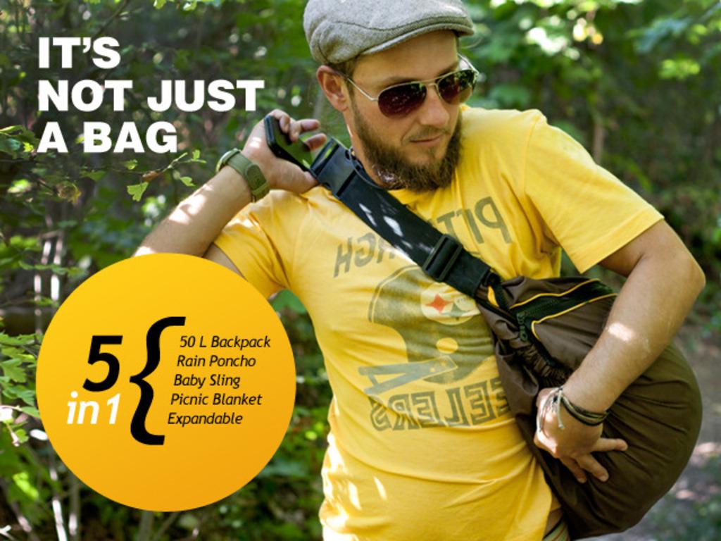 Bigo Bag Five: It's not just a bag - 5 functions in 1 bag's video poster