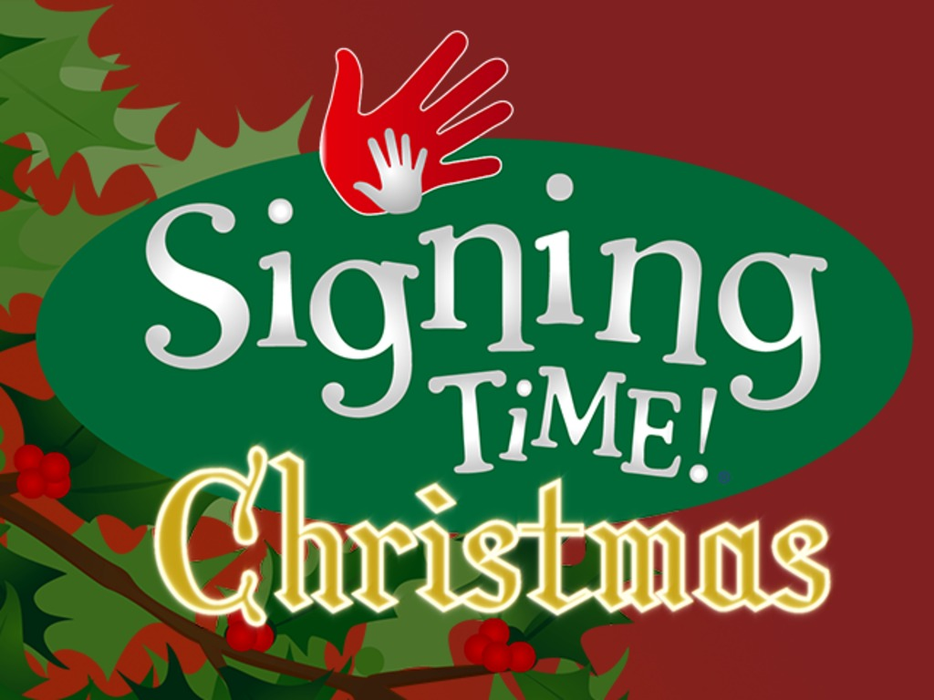 Signing Time Christmas! 2 DVDs + Music CD's video poster