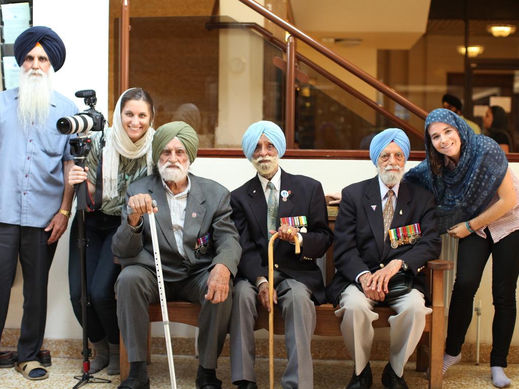 Sikh Lens Film Festival: The Lions of London's video poster