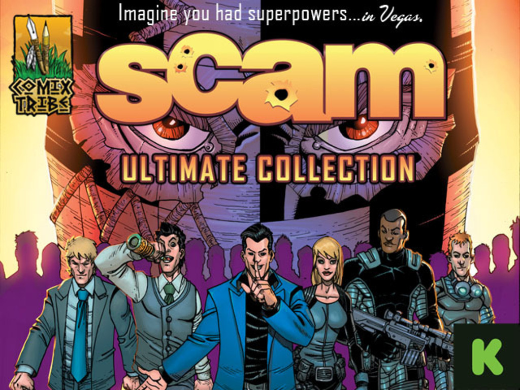 SCAM Ultimate Collection Hardcover Graphic Novel's video poster