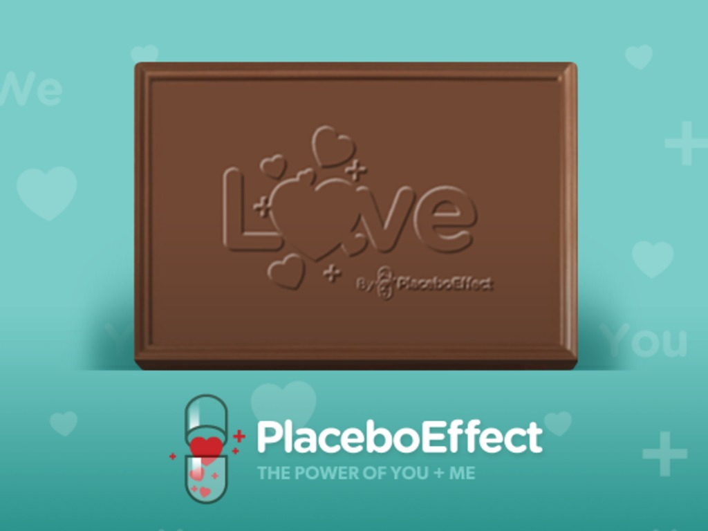 The Placebo Chocolate Project's video poster