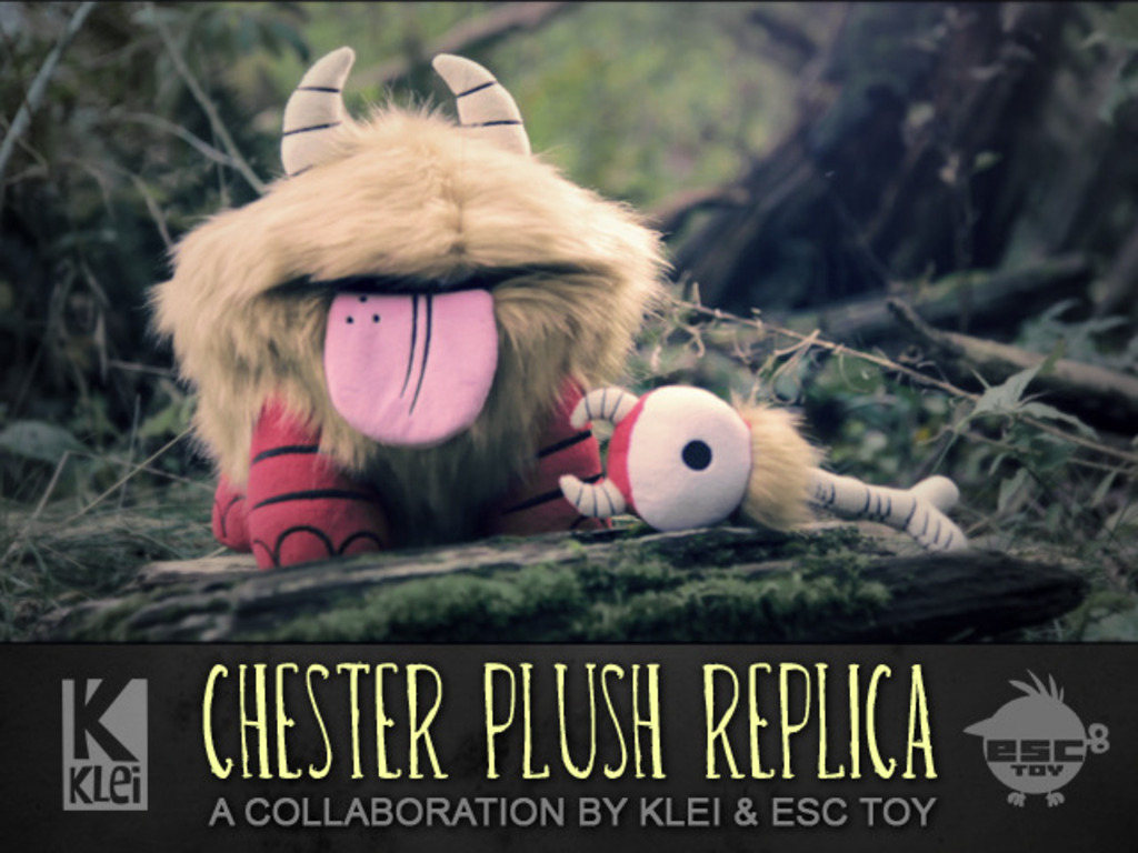Don't Starve Chester Plush's video poster