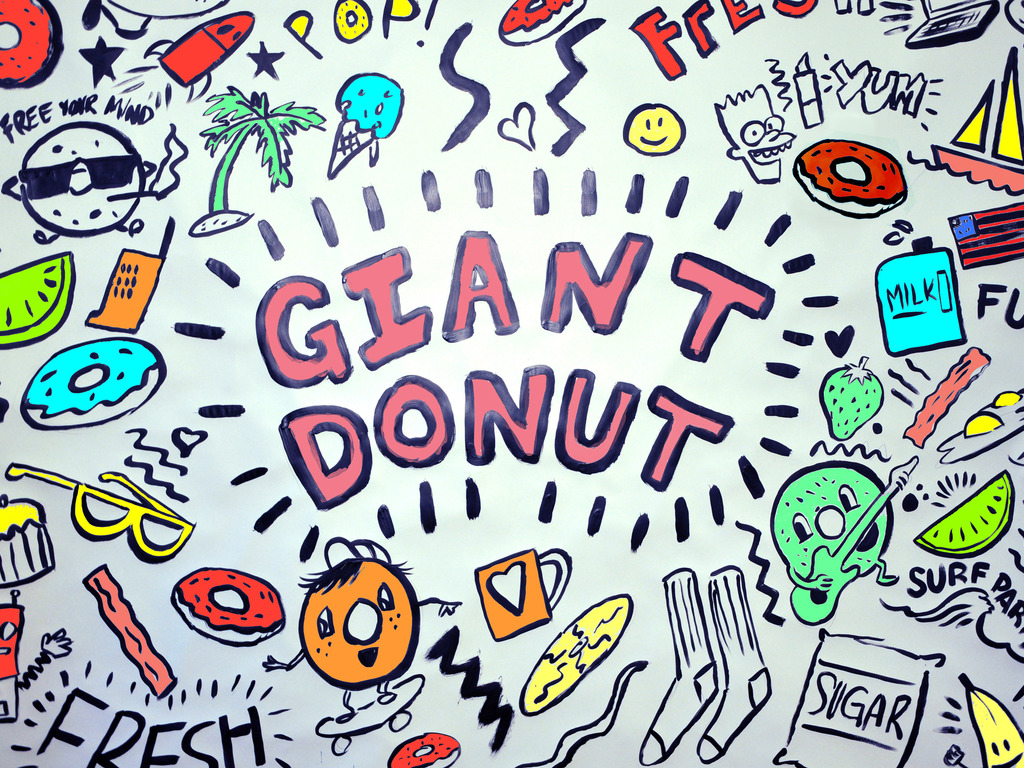 GIANT DONUTS NYC's video poster