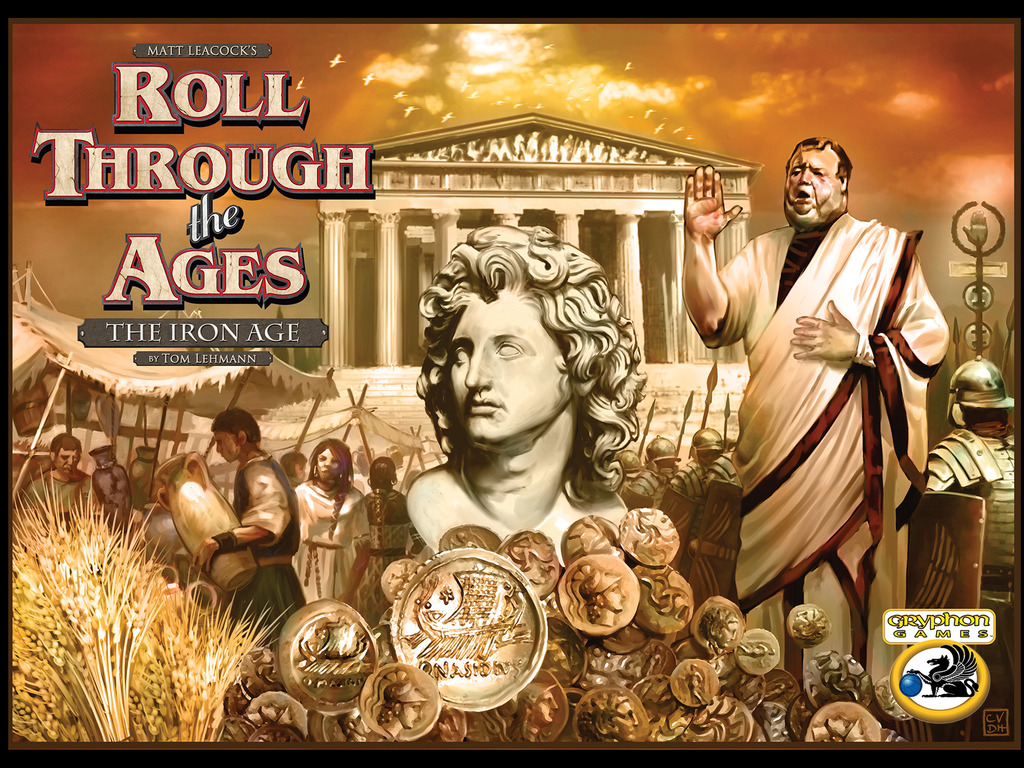 Roll Through the Ages:The Iron Age--Roll Dice & Make History's video poster