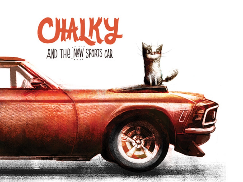 Chalky and the New Sports Car - Children's Picturebook's video poster