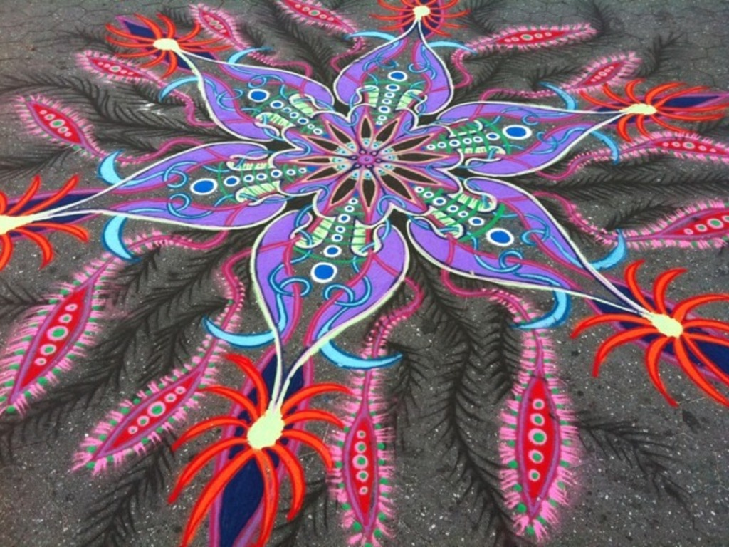 Short Documentary of Corcoran Gallery Sand Painting's video poster