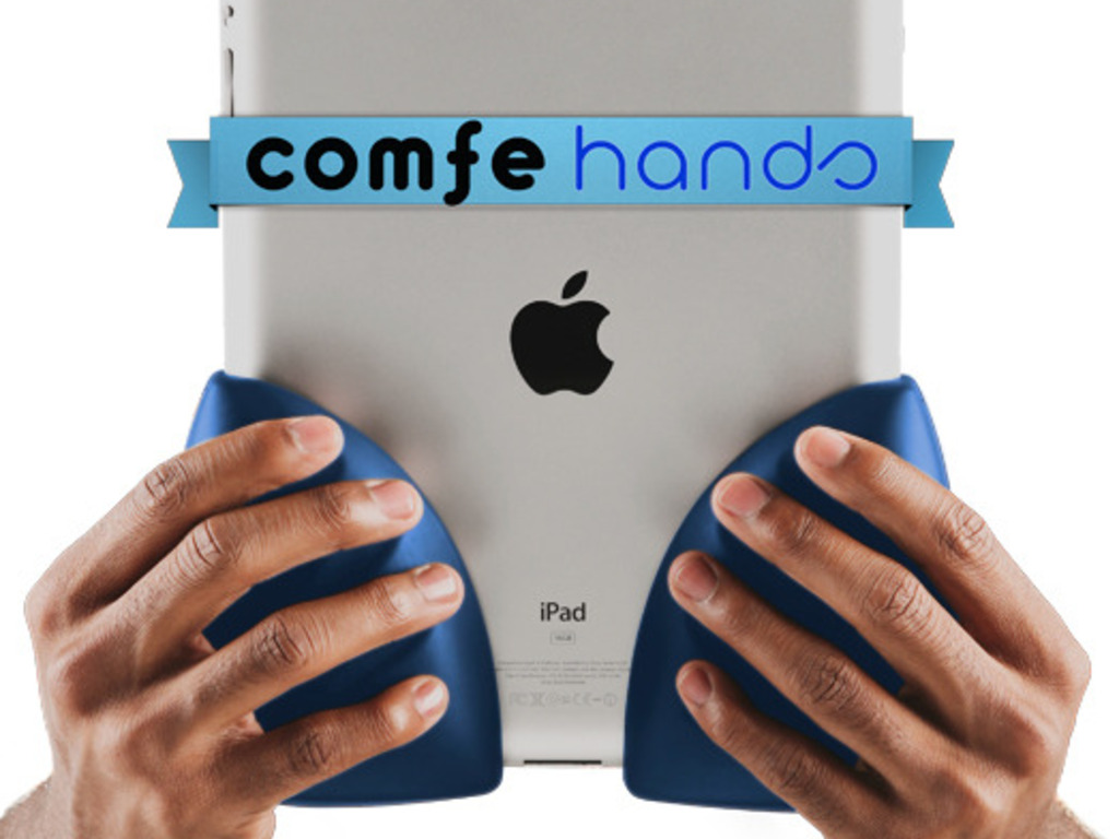 Comfe Hands: a simple soft grip for iPad (Canceled)'s video poster