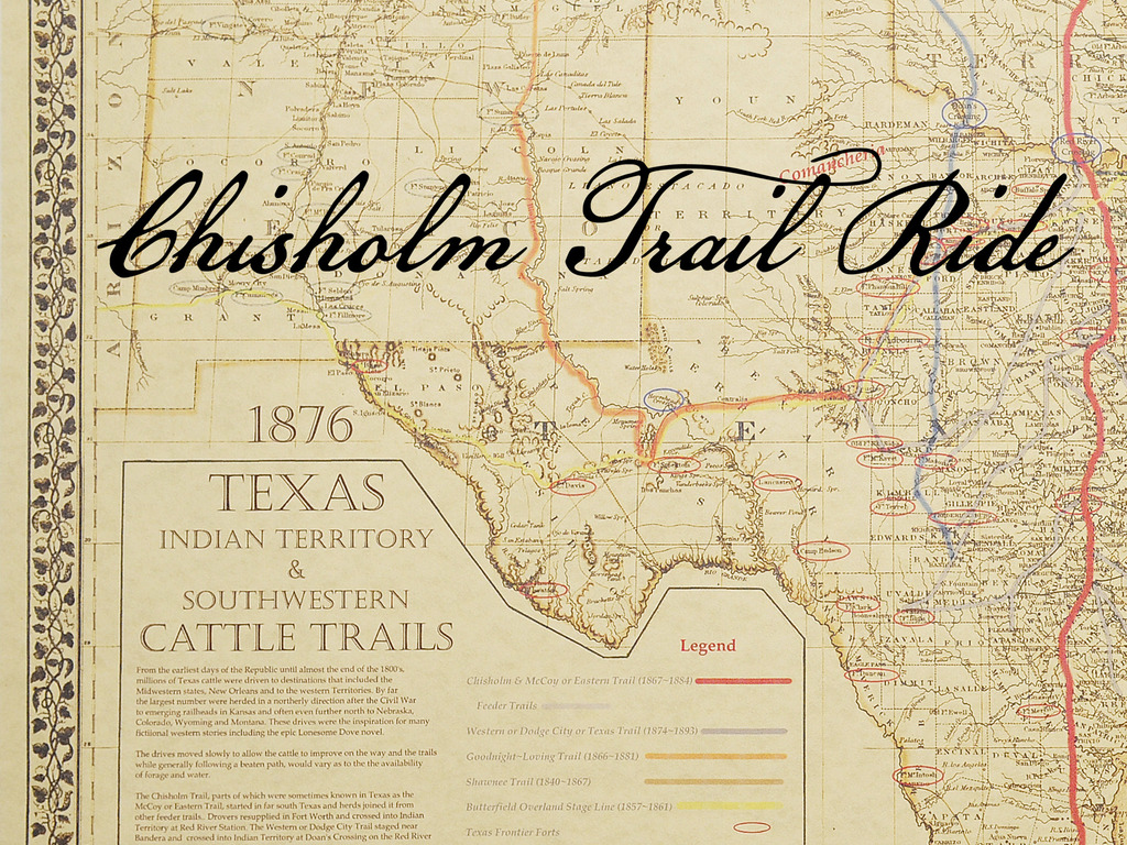 Chisholm Trail Ride's video poster