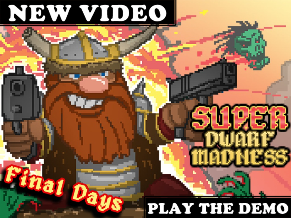 Super Dwarf Madness: Online Multiplayer Exploration w/ Guns!'s video poster