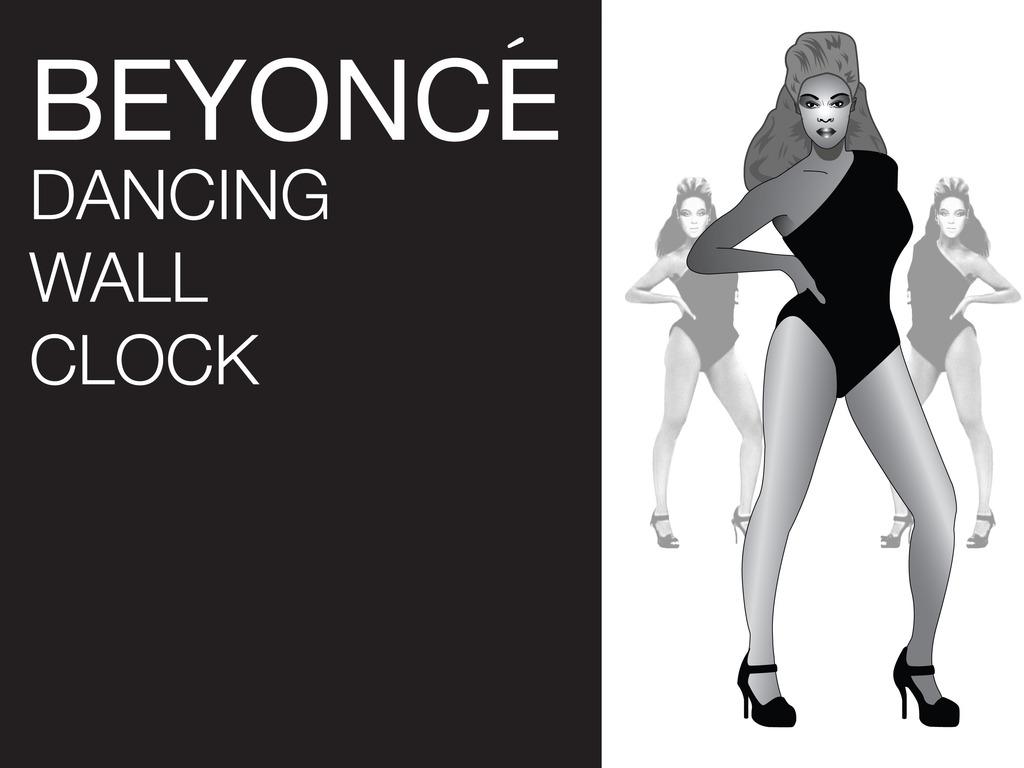 Beyoncé Dancing Wall Clock (Canceled)'s video poster